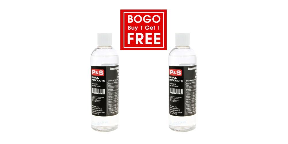P&S Buy 1 Get 1 Free Hand Sanitizer Alcohol Antiseptic 75% - 16 oz