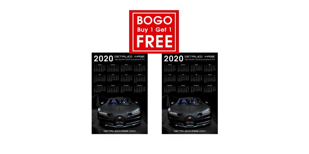 Buy 1 Get 1 Free Poster Calendar