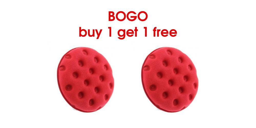 Buy 1 Get 1 Free Red Foam Applicator Pad