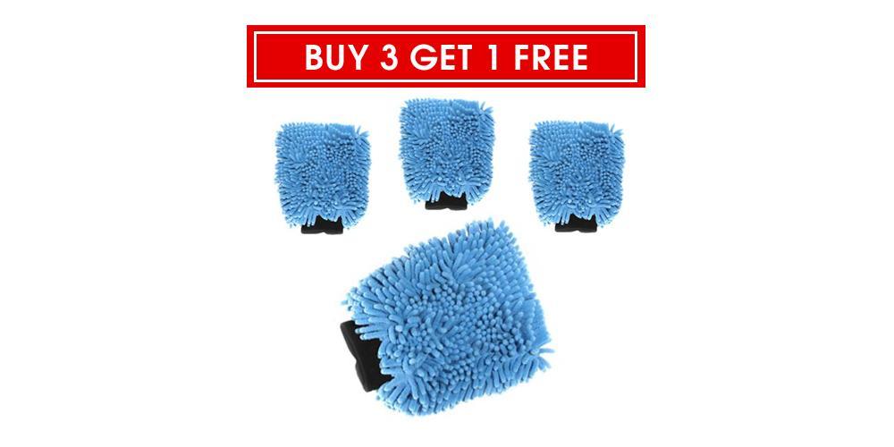 Buy 3 Get 1 Free Chenille Wash Mitt