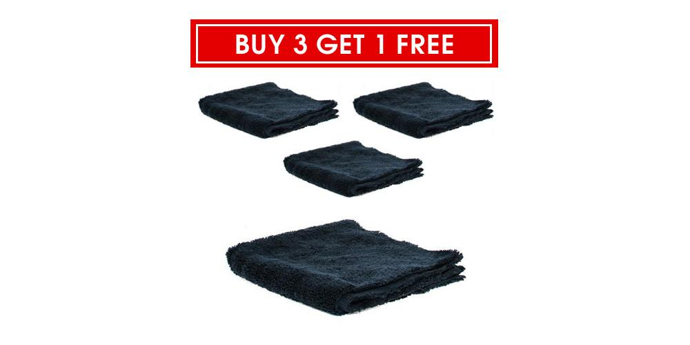 "The Rag Company Buy 3 Get 1 Free Creature Edgeless 420 Towel 16"" x 16"""