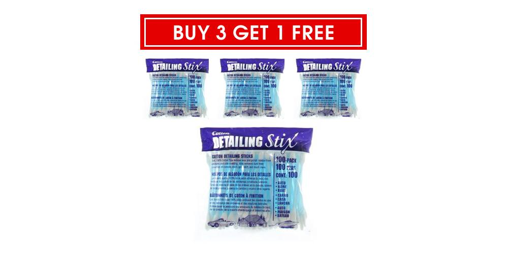 Buy 3 Get 1 Free DI Accessories Cotton Detail Stix