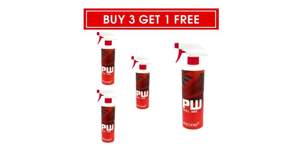 Gtechniq Buy 3 Get 1 Free PW Panel Wipe - 250 ml
