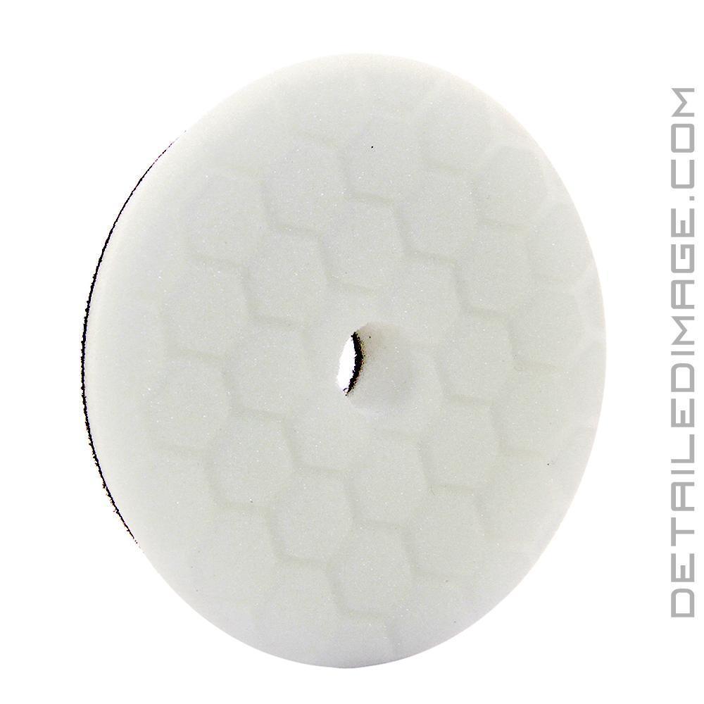 White Medium Light POLISHING PAD Chemical Guys 5.5 HEX-Logic PAD