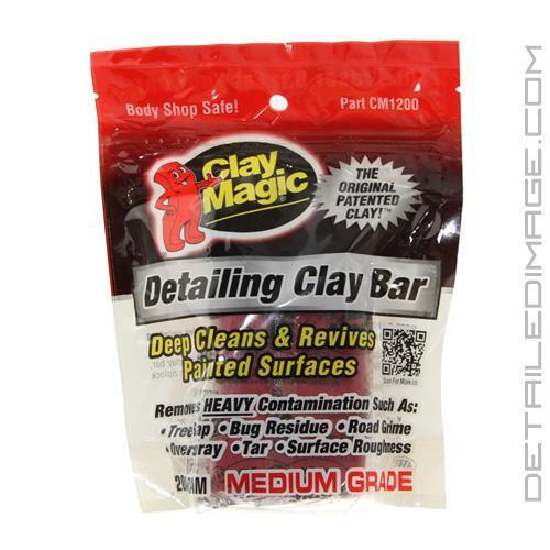 Clay Magic Medium Grade Clay Bar 200 G Free Shipping