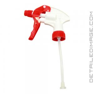 "DI Accessories Adjustable Trigger Sprayer Red - 4.5"" Dip Tube"
