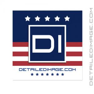"DI Accessories Detailed Image Sticker - 3.5"" x 3.5"" USA"