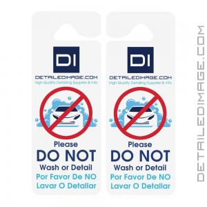 "DI Accessories ""Do Not Wash or Detail"" Hang Tag - Double Sided"