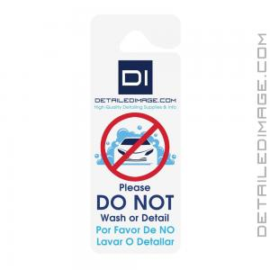 "DI Accessories ""Do Not Wash or Detail"" Hang Tag - Single Sided"