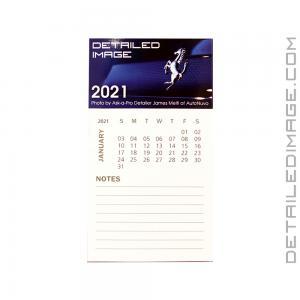 DI Accessories Magnet w/12 Month Calendar Notepad - 2021