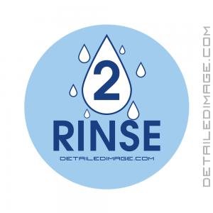 DI Accessories Rinse Bucket Sticker - Blue
