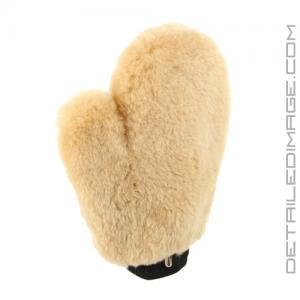 DI Accessories Sheepskin Wash Mitt with thumb