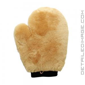 DI Accessories Sheepskin Wash Mitt with thumb