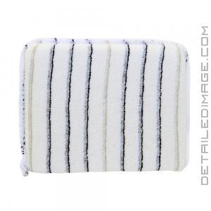 DI Accessories Terry Cloth White Stripe Applicator Pad