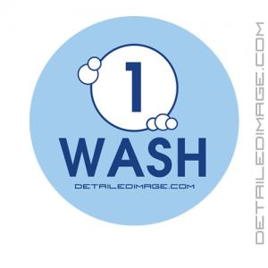 DI Accessories Wash Bucket Sticker - Blue