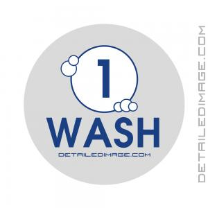 DI Accessories Wash Bucket Sticker - Grey