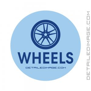 DI Accessories Wheels Bucket Sticker - Blue