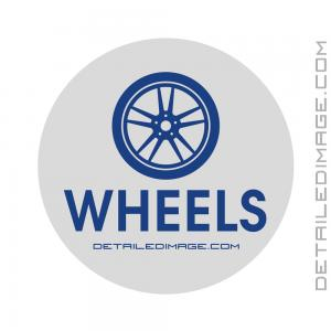 DI Accessories Wheels Bucket Sticker - Grey