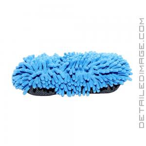 DI Microfiber 2 in 1 Chenille Wash Mitt and Scrubber