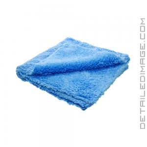 "DI Microfiber Double Thick Edgeless Towel - 16""x16"" Blue"