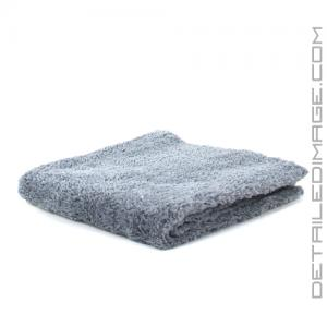 "DI Microfiber Double Thick Edgeless Towel - 16""x16"" Grey"