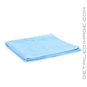 "DI Microfiber Polish Removal Edgeless Towel - 16"" x 16"" Blue"