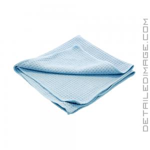 "DI Microfiber Waffle Weave Glass Cleaning Towel Light Blue - 16"" x 16"""