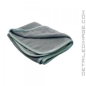"DI Microfiber Waffle Weave Microfiber Towel Grey - 16"" x 24"""