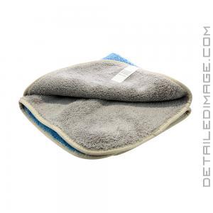 "DI Microfiber Wax Removal Two Colored Towel - 16"" x 16"""