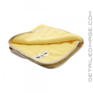 """DI Microfiber Yellow Two Sided Towel - 16"""" x 16"""""""
