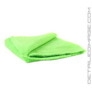 "DI Microfiber Zero Edge Towel - 16""x16"" Green"