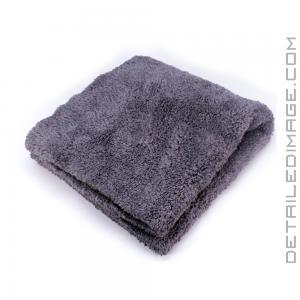 "Detail Factory Plush Microfiber Towel Gray - 16"" x 16"""