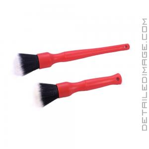 Detail Factory Ultra Soft Detail Brush Synthetic Red - Set