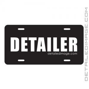 Detailer Vanity License Plate