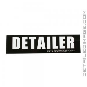 """Detailer Sticker - 2""""x8"""""""