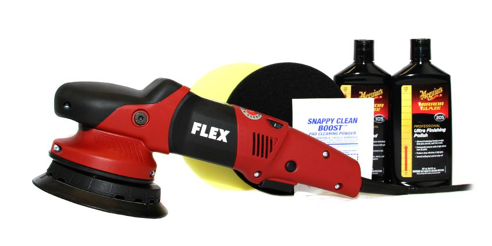 Flex XFE 7-15 and Meguiar's Polish Kit