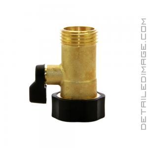 Gilmour Brass Connector High Flow Shut-off Valve