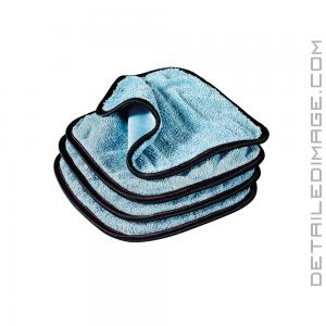 "Griot's Garage PFM Dual Weave Glass Towel 4 pack - 9"" x 9"""
