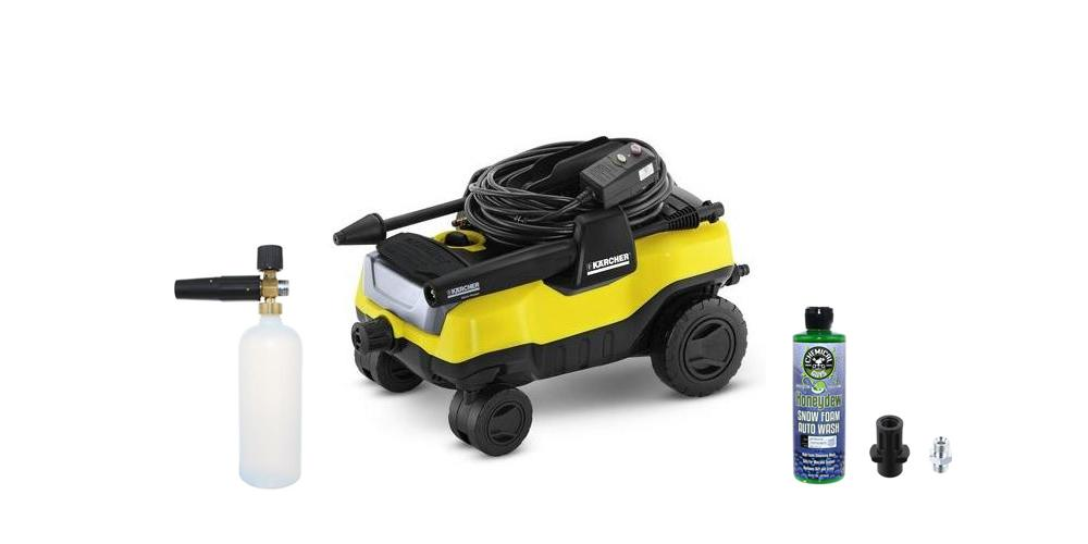 Karcher Pressure Washer and Foam Lance Kit
