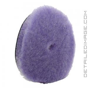 "Lake Country Purple Foamed Wool Pad - 7.5"""