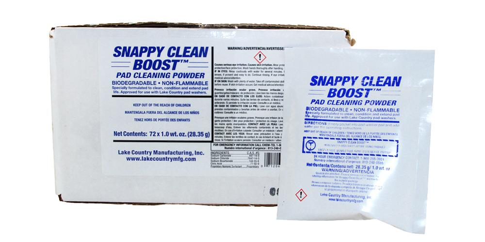 Lake Country Lake Country Snappy Clean Boost Pad Cleaner BULK 72x