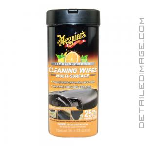 Meguiar's Citrus Fresh Cleaning Wipes - 25 Wipes
