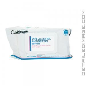 NanoSkin 75% Alcohol Antiseptic Wipes 60 pack