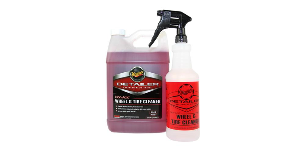 Meguiar's Non Acid Wheel Cleaner D143 Kit