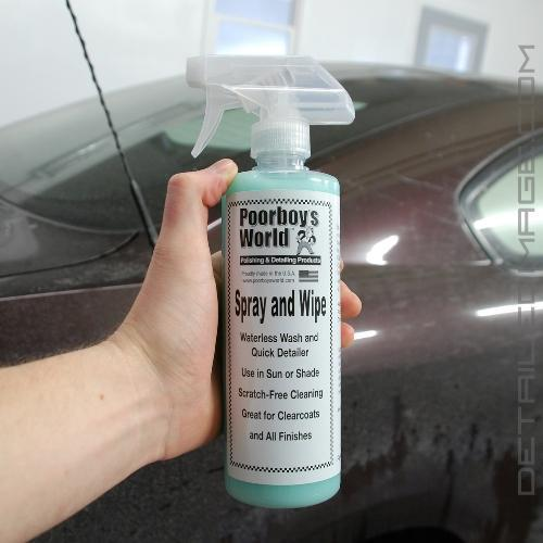 Poorboy's World Spray & Wipe (S&W) - 16 oz | Free Shipping