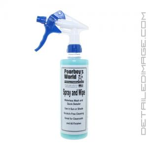 Poorboy's World Spray & Wipe (S&W) - 16 oz