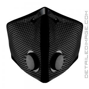 RZ Mask M2 Mesh Reusable Dust/Pollution Black Mask - Large