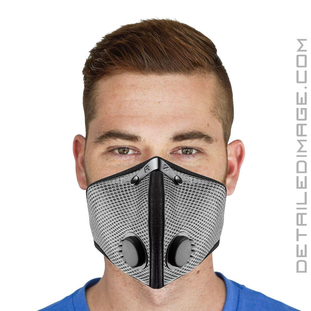 Reusable pollution Mesh M2 Mask Medium Titanium - Dust Rz