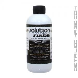 Solution Finish Trim Restorer - 12 oz Black