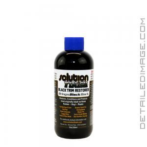 Solution Finish Trim Restorer - 12 oz Black